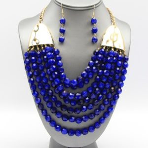 Jewelry - Royal Blue Layered Necklace